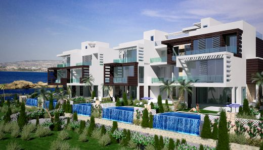 Exquisite Frontline Bungalows, Condos and Penthouses - 300m to New Marina, Kissonerga