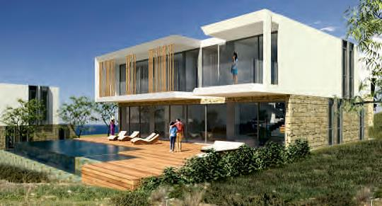 For Sale 3,4 & 5 Luxury Homes overlooking the Endless Blue in Peyia village - Paphos