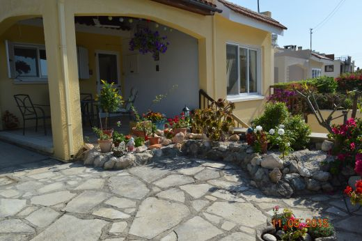 2 Bedroom Raised Bungalow with Garage and Extension in Chlorakas