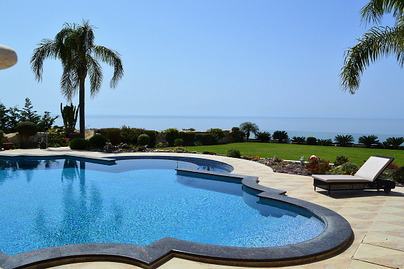 Breathtaking Designer Luxury Villa with Private Swimming Pool and Panoramic Sea Views for Sale in Pissouri - Limassol