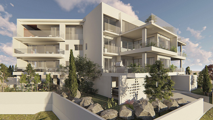 Luxury 2, 3 & 4 Bedroom Apartments in Stunning New Block in Konia, Paphos