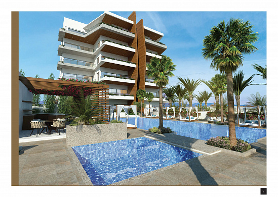 Luxury apartments, 750 m. to the Sea, Germasoyia - Limassol