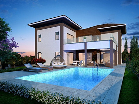 Villa in Limassol with 4 bedrooms, Agia Fyla