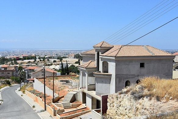 Modern 7 Bedroom villa with private swimming pool and incredible city views for sale in Panthea Area - Limassol