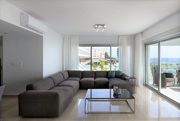 For Sale Luxury Seafront 3 Bedroom Apartment in Limassol