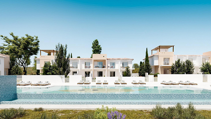 Stunning New Contemporary Complex with Townhouses and Villas Under Construction in Koloni - Paphos