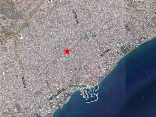 Plot in the center city of Limassol, City Center
