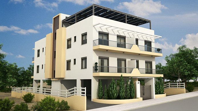 Brand New Complex of Apartments for sale in Exclusive area in Paphos