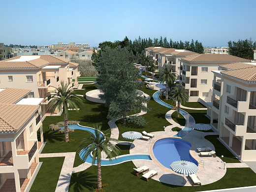 For Sale 1 Bedroom Apartments in Beautiful Complex in Universal Area - Paphos