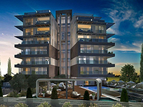 Three bedroom apartment in Limassol, Potamos ...