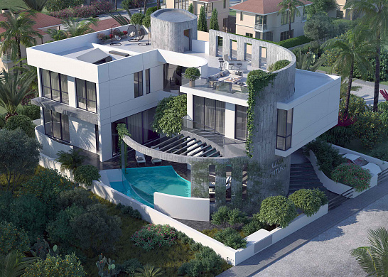 Contemporary 5 Bedroom Villa with Infinity Swimming Pool for Sale in Potamos Yermasoyias - 250 meters to the sea
