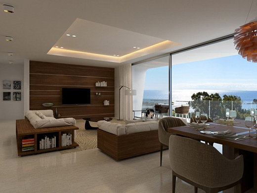 Penthouse with 3 bedroom in Limassol, Agios Tychonas