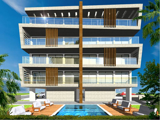 Luxury 3 & 4 Bedroom Apartments with Sea Views in Kato Paphos
